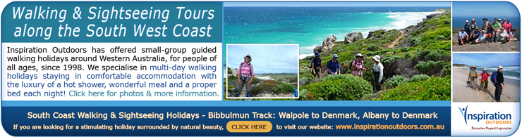 Albany Walking Tours - Walk the Bibbulmun Track