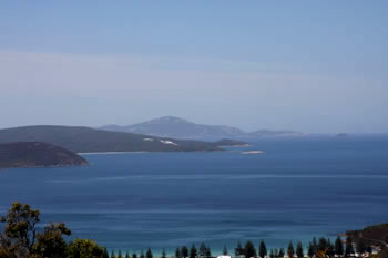 Middleton Bay from Mt Clarence