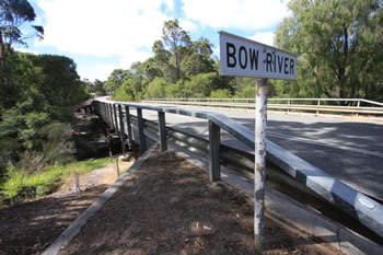 Bow Bridge over the Bow River, South Coast of Western Australia