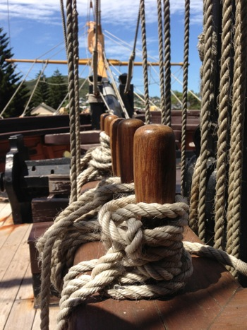 The Brig Amity Figurehead