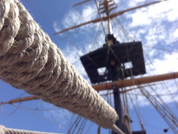 Visit the Brig Amity Replica with children