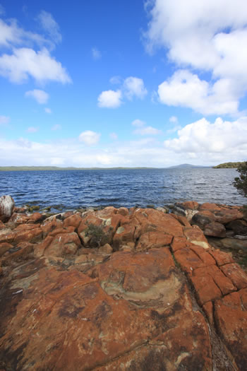 The Wilson Inlet, Denmark, on the South West of Western Australia