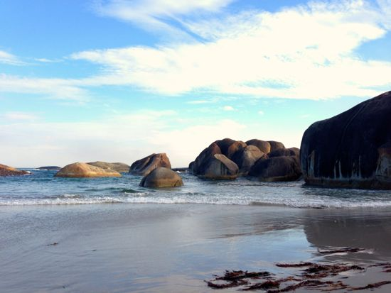 Elephant Cove Beach and Elephant Rocks, Denmark, Western Australia