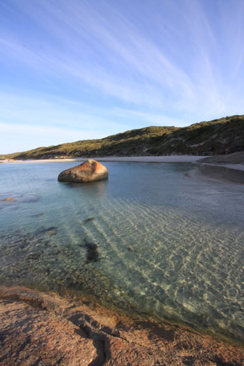 Greens Pool, early morning at William Bay National Park, Denmark, Western Australia