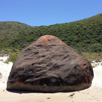 Giant Rocks on Lights Beach, East