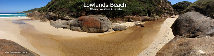 Lowlands Beach River, Albany