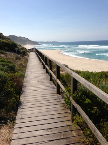 Pathway to Mandalay Beach & Chatham Island