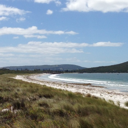 Middleton Beach towards Emu Point over Sand Dunes