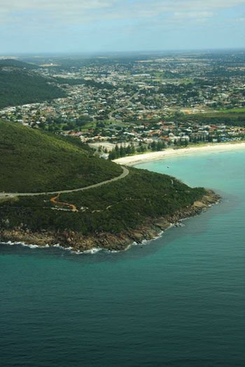 Aerial Photograph of Middleton Beach and Middleton Bay