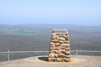 The Summit of Mount Frankland