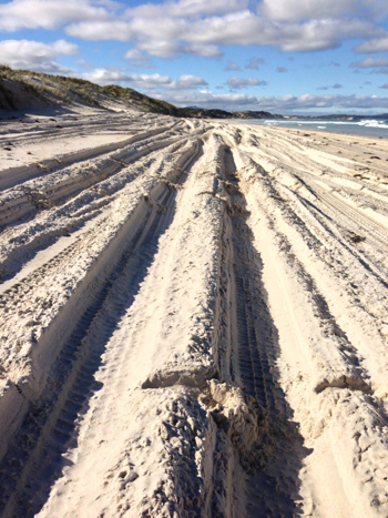 4 Wheel Driving on Nanarup Beach, Nanarup, Albany, Australia
