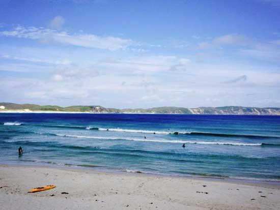 ocean beach ocean beach surfing denmark western australia