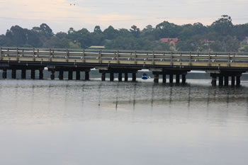 Oyster Harbour Crossing the Lower King River