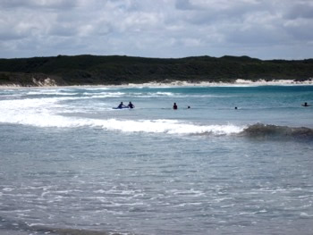 Parry Beach Surfing