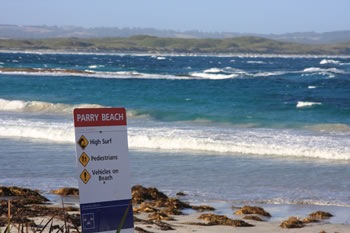 Safety at Parry Beach