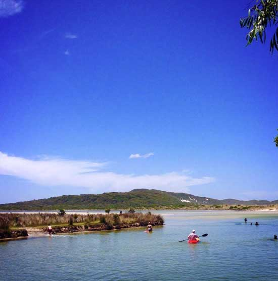 Summer at Prawn Rock Channel