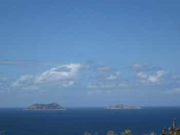Michaelmas & Breaksea Islands from Princess Royal Fortress, Albany, WA