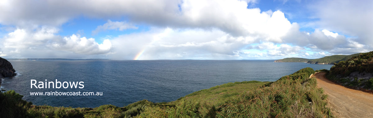 Rainbows on the Rainbow Coast of Western Australia