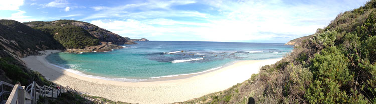 Panoramic Photograph of Salmon Holes, Albany, Western Australia