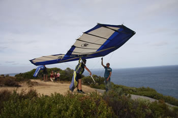 Hang Gliding at West Cape Howe