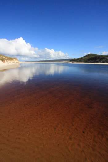 Torbay Inlet, Torbay, on the South West of Western Australia