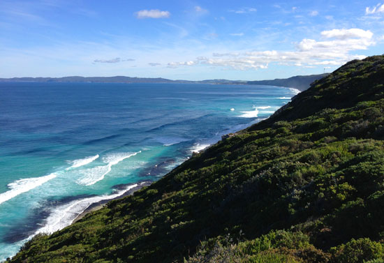 Torndirrup Peninsula at the Albany Wind Farm, Albany WA