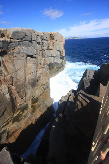 The Gap photograph of the Southern Ocean Waves on ancient granite