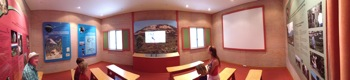 Video theatre at the Visitors Centre at Two Peoples Bay