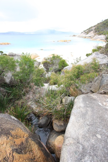 Waterfall Beach near Little Beach at Two Peoples Bay