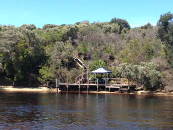 The Dock at The Depot, Walpole Wilderness Area, Nornalup Inlet