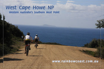 Cycling in West Cape Howe National Park
