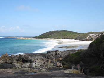 Waterfall Beach at William Bay National Park